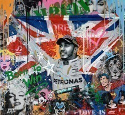 Born to Win by Yuvi -  sized 34x32 inches. Available from Whitewall Galleries