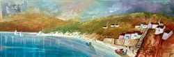 The Steps to the Beach by Keith Athay -  sized 47x16 inches. Available from Whitewall Galleries