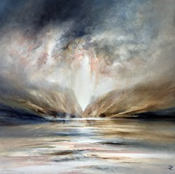 Passing Through by Chris and Steve Rocks -  sized 24x24 inches. Available from Whitewall Galleries