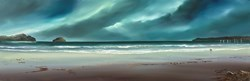 Serene Stroll by Philip Gray -  sized 48x16 inches. Available from Whitewall Galleries