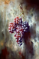 Uvas Frescas III by J M Reyes -  sized 16x24 inches. Available from Whitewall Galleries
