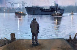 The Return by Kevin Day -  sized 36x24 inches. Available from Whitewall Galleries