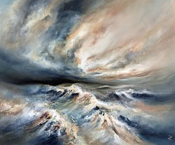 Turbulent Shores  by Chris and Steve Rocks -  sized 20x24 inches. Available from Whitewall Galleries