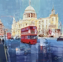 St Pauls Study by Tom Butler -  sized 17x17 inches. Available from Whitewall Galleries