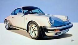 1978 Porche 911 Turbo by Roz Wilson -  sized 38x22 inches. Available from Whitewall Galleries