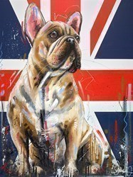Hello Handsome III by Samantha Ellis -  sized 30x40 inches. Available from Whitewall Galleries