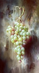 Uvas Verdes IV by J M Reyes -  sized 9x16 inches. Available from Whitewall Galleries
