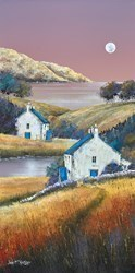 Down to the River II by John Mckinstry -  sized 12x24 inches. Available from Whitewall Galleries