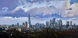 London VI by Stephen Collett -  sized 39x20 inches. Available from Whitewall Galleries