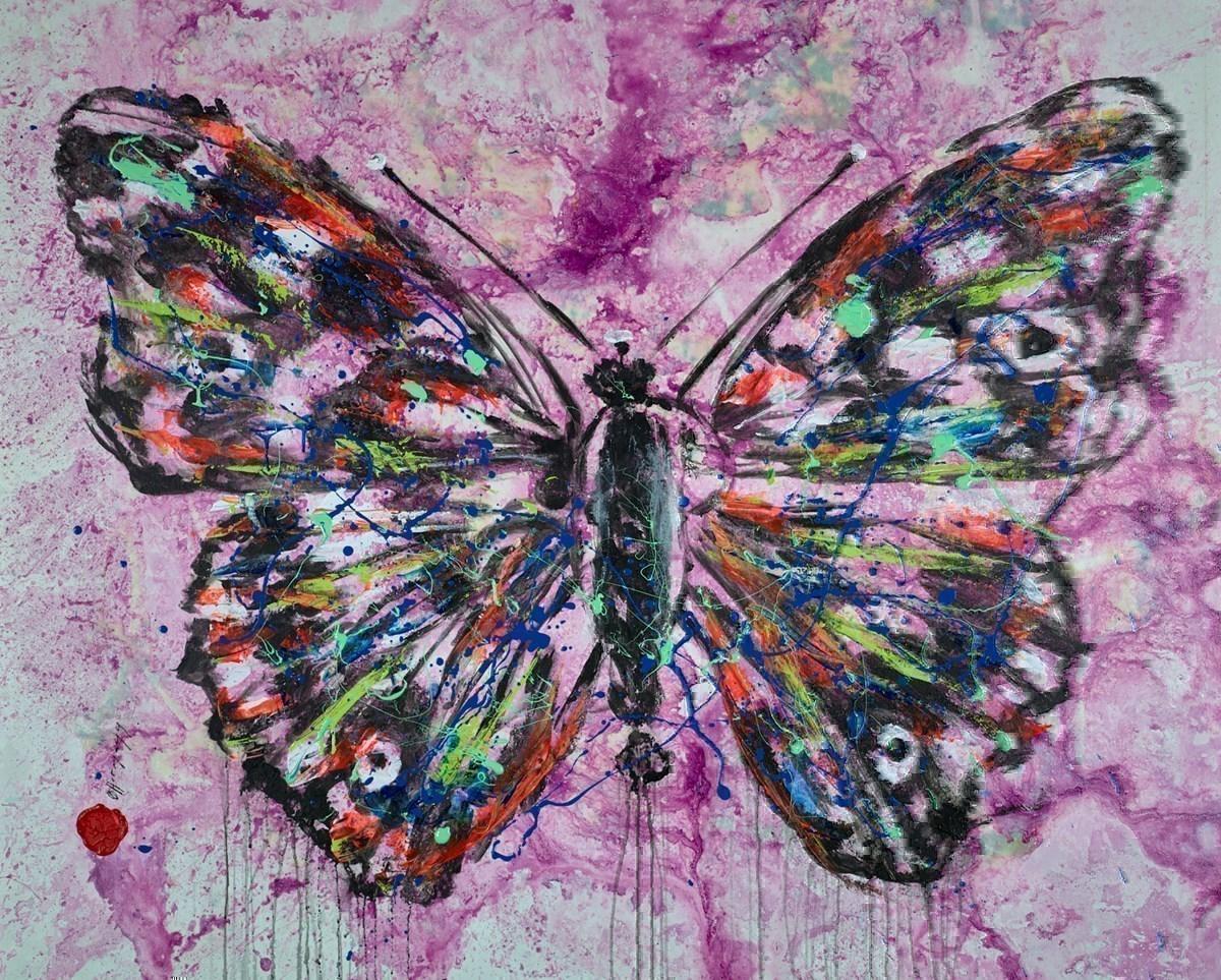 Butterfly II by Alejandro Hermann -
