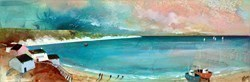 Sunset on the Sea by Keith Athay -  sized 35x12 inches. Available from Whitewall Galleries