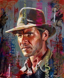 Indy by Zinsky -  sized 22x28 inches. Available from Whitewall Galleries
