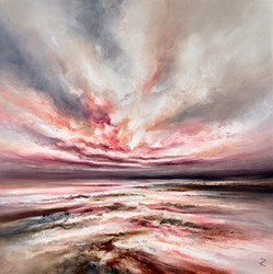 Elegant Beauty by Chris and Steve Rocks -  sized 24x24 inches. Available from Whitewall Galleries