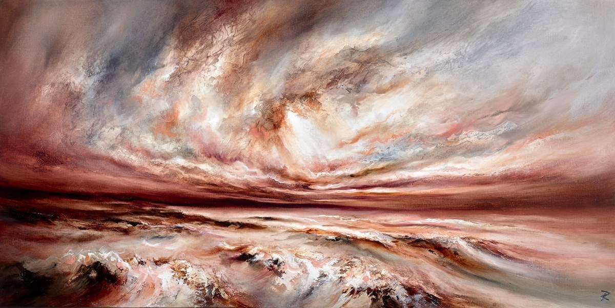 Glouious Seas by Chris and Steve Rocks -  sized 24x47 inches. Available from Whitewall Galleries