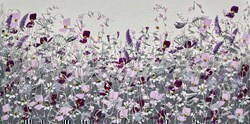 Countryside Wild Flowers I by Mary Shaw -  sized 24x12 inches. Available from Whitewall Galleries