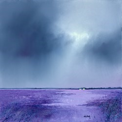 Forever Lavender by Barry Hilton -  sized 20x20 inches. Available from Whitewall Galleries