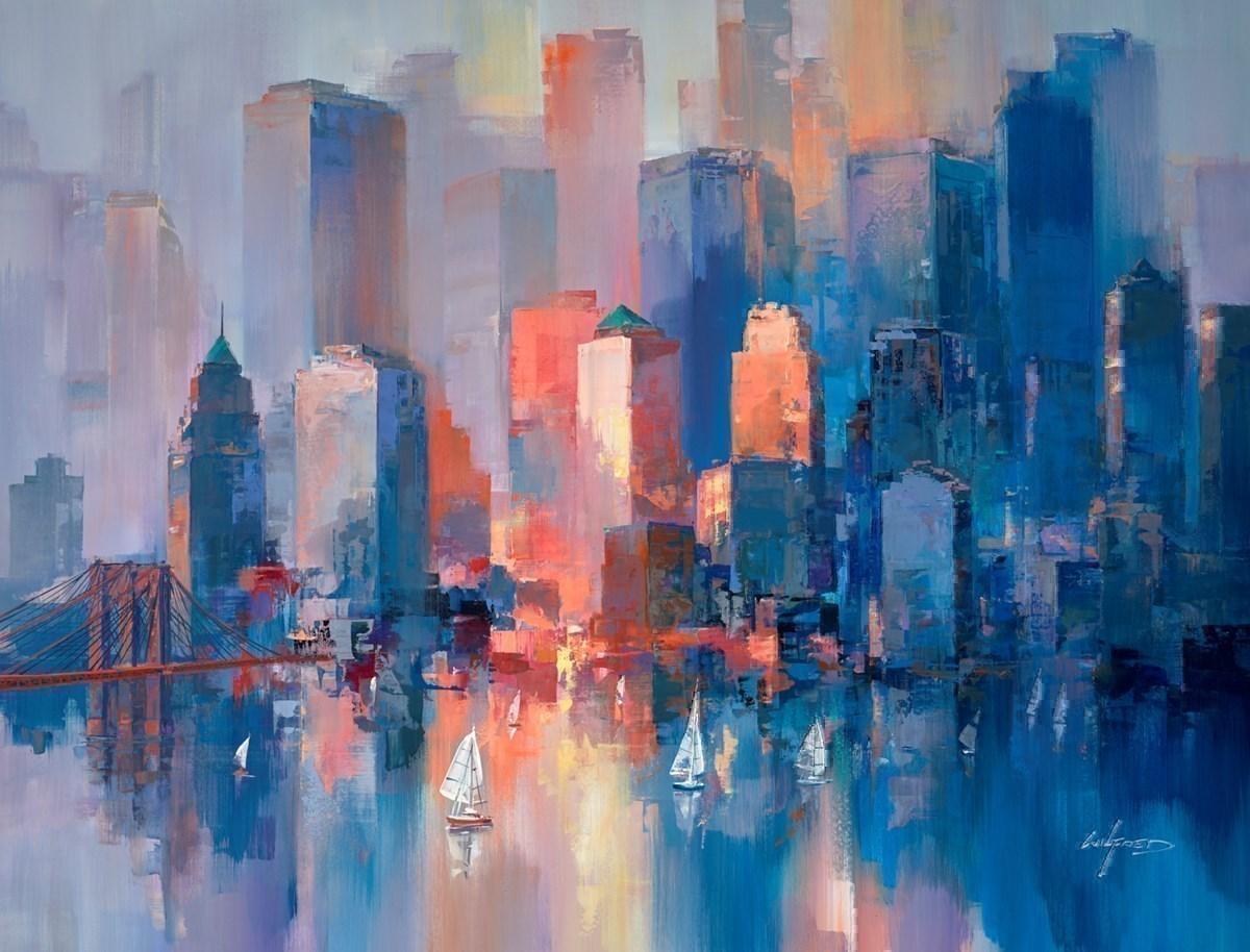 Blue Towers VI