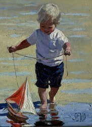 Maiden Voyage by Sherree Valentine Daines -  sized 8x11 inches. Available from Whitewall Galleries