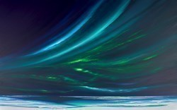 Bright Aurora III by Jonathan Shaw -  sized 48x30 inches. Available from Whitewall Galleries