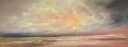 Golden Sky I by Philip Raskin -  sized 48x18 inches. Available from Whitewall Galleries