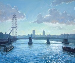 London Silhouette by Charles Rowbotham -  sized 29x24 inches. Available from Whitewall Galleries