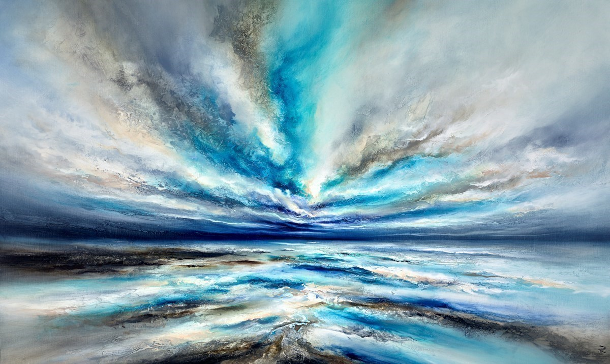 Oasis of Calm by Chris and Steve Rocks -  sized 36x59 inches. Available from Whitewall Galleries