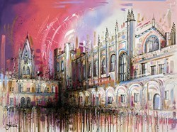 Beautiful Buildings by Samantha Ellis -  sized 30x40 inches. Available from Whitewall Galleries