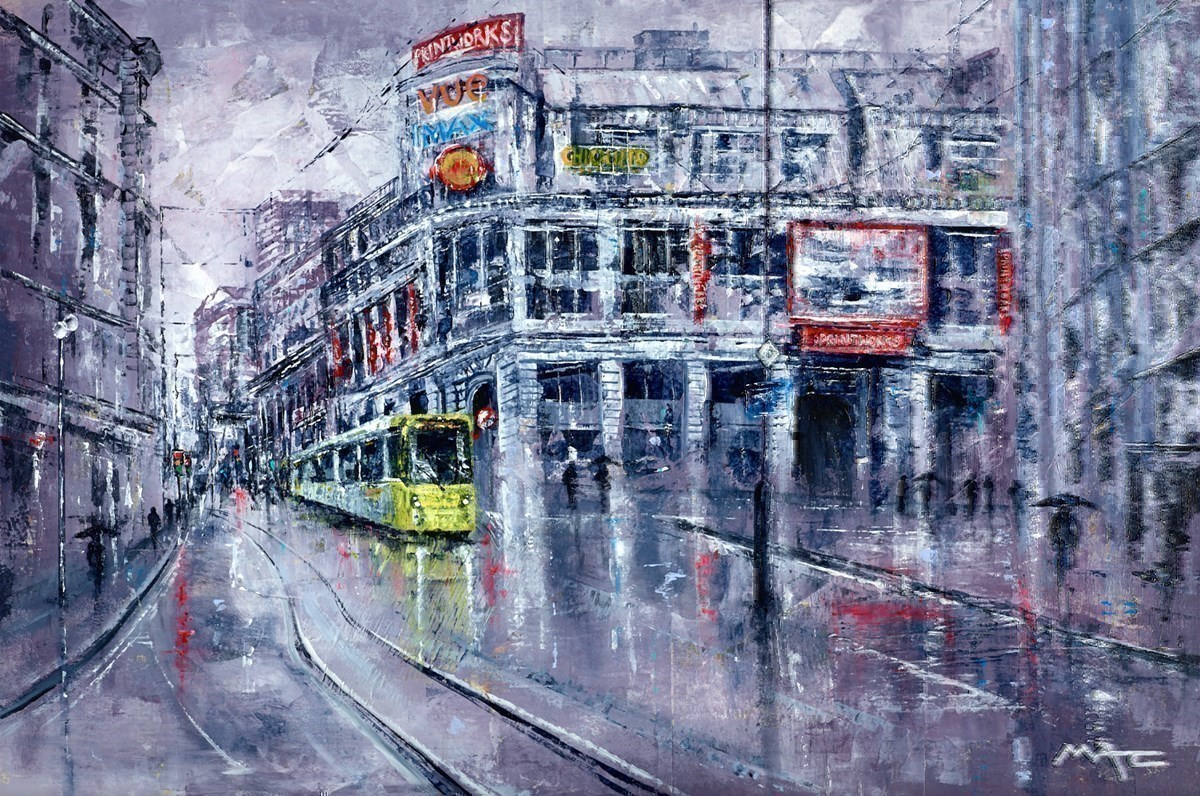 Printworks and Tram, Manchester