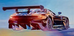 2015 Aston Martin Vulcan by Roz Wilson -  sized 40x20 inches. Available from Whitewall Galleries