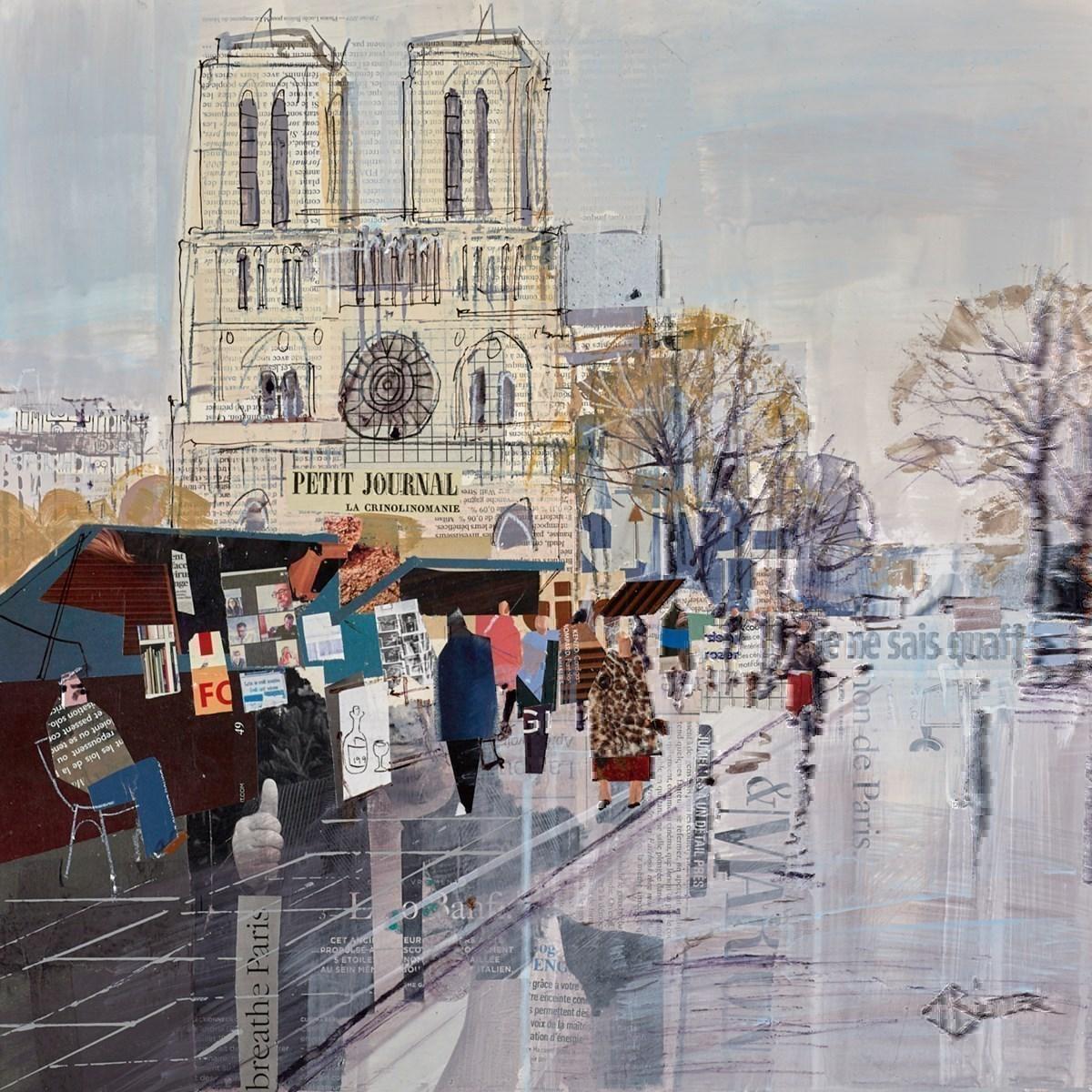 Bouquinistes, Notre-Dame, Study