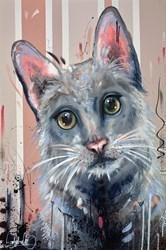 Catitude Is Everything III by Samantha Ellis -  sized 24x36 inches. Available from Whitewall Galleries