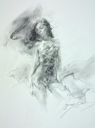 Date with a Dream IV by Anna Razumovskaya -  sized 15x20 inches. Available from Whitewall Galleries