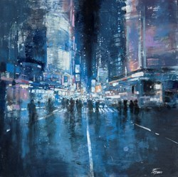 Nocturno by Paolo Fedeli -  sized 20x20 inches. Available from Whitewall Galleries