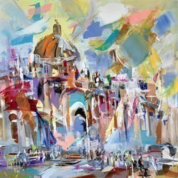 Dome by Marijus Jusionis -  sized 24x24 inches. Available from Whitewall Galleries
