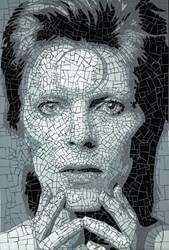 David Bowie II by David Arnott -  sized 24x35 inches. Available from Whitewall Galleries
