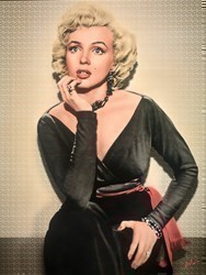 Marilyn by Nick Holdsworth -  sized 35x47 inches. Available from Whitewall Galleries