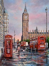 See You at Westminster by Phillip Bissell -  sized 24x32 inches. Available from Whitewall Galleries