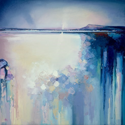 Open Waters by Anna Gammans - Original Painting on Stretched Canvas