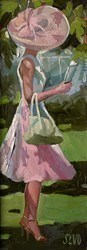 Ascot Beauty by Sherree Valentine Daines -  sized 5x13 inches. Available from Whitewall Galleries