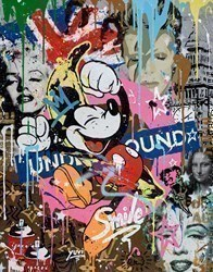 Happiness is a State of Mind II by Yuvi -  sized 24x30 inches. Available from Whitewall Galleries