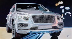 2019 Bentley Continental GT by Roz Wilson -  sized 40x22 inches. Available from Whitewall Galleries