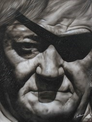 John Wayne by Paul Karslake -  sized 30x40 inches. Available from Whitewall Galleries