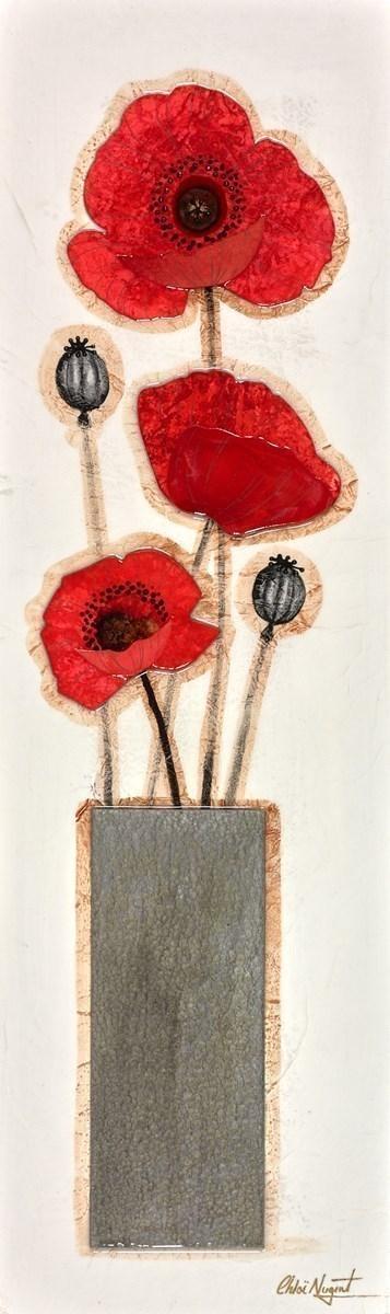 Poppy Vase II