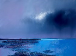 Winter Blue by Barry Hilton -  sized 32x24 inches. Available from Whitewall Galleries