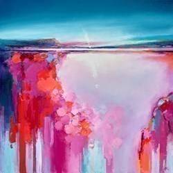 Approaching Sundown by Anna Gammans -  sized 20x20 inches. Available from Whitewall Galleries