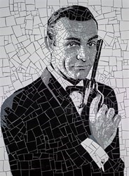 Bond by David Arnott -  sized 24x32 inches. Available from Whitewall Galleries