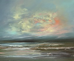 Calmer Seas II by Philip Raskin -  sized 24x20 inches. Available from Whitewall Galleries