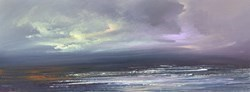 Twilight Sky I by Philip Raskin -  sized 32x12 inches. Available from Whitewall Galleries