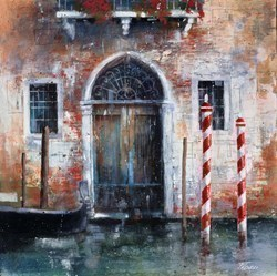 Vecchia Porta a Venezia by Paolo Fedeli -  sized 20x20 inches. Available from Whitewall Galleries