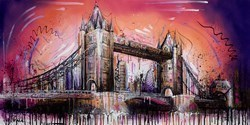 Building Bridges V by Samantha Ellis -  sized 48x24 inches. Available from Whitewall Galleries